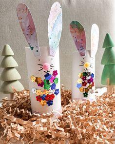 """149 """"Μου αρέσει!"""", 5 σχόλια - Mammyfesto (@mammyfesto) στο Instagram: """"🐰 EASTER BUNNIES🐰 Easter bunnies are among the most famous #eastercrafts . Nevertheless, this is…"""" Easter Activities, Bunnies, Instagram, Rabbit, Bunny"""