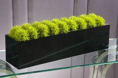 Modern floral table display