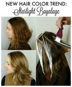 Hair Color Idea: Starlight Bayalage | http://momfabulous.com/2015/12/hair-color-idea-starlight-bayalage/