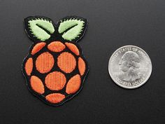 Raspberry Pi - Skill badge, iron-on patch: Badges/Patches: Reward yourself, or your Maker friend, with Adafruit Skill Badges. They're the best way to show off your projects and skills! Open Source Hardware, HTML5, Perl, even Brewing are just a few examples of the array of iron-on patches that we carry. Earn and share badges as topics you've mastered – and display them proudly on your backpacks, messenger bags, and sashes.