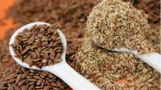 Flax Seed: The Superfood For Glowing Hair And Healthy Skin (And Other Benefits! Kefir, How To Treat Pcos, Flax Seed Recipes, Substitute For Egg, Everyday Food, Superfoods, Healthy Eating, Healthy Skin, Healthy Foods