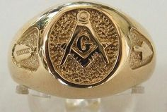 Masonic Ring Prince Hall Mason, Freemason Symbol, Masonic Jewelry, Freemasonry, Knights Templar, Ring Bracelet, Magick, Band Rings, Masons