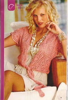Pattern spring/summer/fall blouse cardigan. $2.50, via Etsy.  http://www.etsy.com/listing/96220502/pattern-only-a-crochet-springsummerfall#