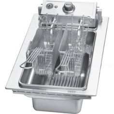 Alpes Inox T 130 Stainless Steel Countertop With Grill And