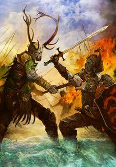 """So many good paintings of the """"Battle of the Trident"""""""