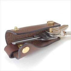 key ring leather