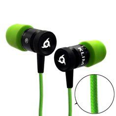 KLIM Fusion In-Ear-Kopfhörer mit Memory Foam, geflochtenes  EUR 24,90