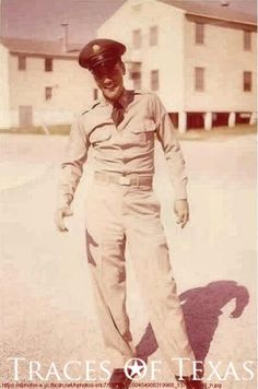 Elvis at Ft. Hood, TX, late 1950s - photo found at Ft. Hood by Paul Micelli; photographer unknown.