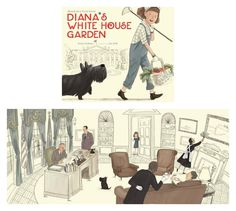 Empowering books for girls: Diana's White House Garden by Elisa Carbone and illustrated by Jen Hill