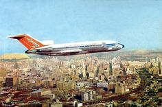 SAA Boeing 727 flies over Johannesburg Jets, Johannesburg City, South African Air Force, Nostalgia, Boeing 727, Vintage Air, Commercial Aircraft, Air Travel, African History