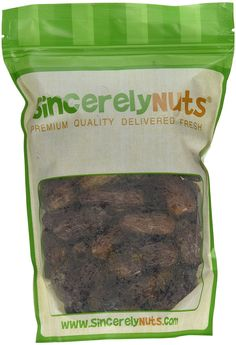 Sincerely Nuts Whole Pitted Dates- One (1) Lb. Bag - Packed with Fiber and Minerals - Irresistibly Scrumptious - Guaranteed Freshness - Kosher Certified -- Hurry! Check out this great item : Fresh Groceries