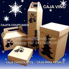 Llego Diciembre y aquí están las cajas para la ocasión!!