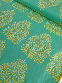 SALE Lark Home Decor Fabric by Amy Butler beautiful home dec fabric - Henna Trees in Grass -1 yard or by the yard
