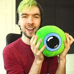 jacksepticeye beanie green hair - Google Search