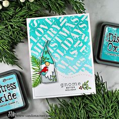 Holiday Words, Holiday Fun, Simple Christmas Cards, Hand Stamped Cards, Card Tutorials, Simon Says Stamp, Card Maker, Card Kit, Cool Cards