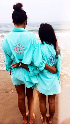 Alpha Chi Omega Monogram Columbia Fishing Long Sleeve Shirt