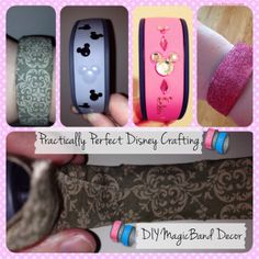 Practically Perfect Disney Crafting: DIY MagicBand Decor » WDW Radio - Your Walt Disney World Information Station by Lou Mongello