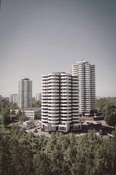 Henryk Buszko, Aleksander Franta - Osiedle Tysiąclecia, Katowice