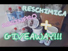 collab. Reschimica e Resinpro + giveaway!!!