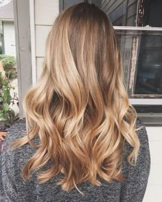 Cute Golden Blonde Balayage