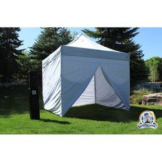 UnderCover 10 x 10 Commercial Hybrid Solid-Core™Instant canopy with Sidewall Enclosure - UC-3R10WV