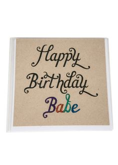 All rights reserved. Happy Birthday Babe, Greeting Cards, Studio, Design, Studios
