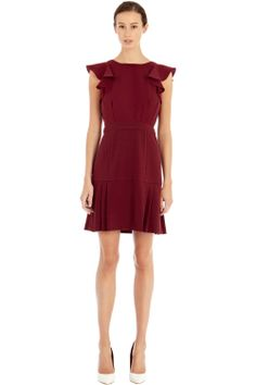 Dresses | Red FRILL SLEEVE 2 FOR DRESS | Warehouse