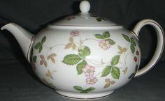 Wedgewood wild strawberry teapot