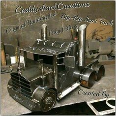 If Carslberg made Truck Wood burners!! Handcrafted by Scottish Creator, Barry Wood