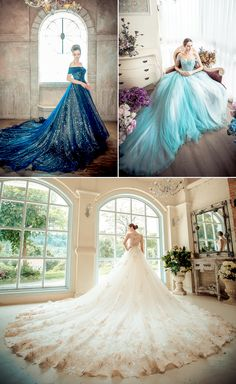 Stunning wedding dresses by No.9 Wedding