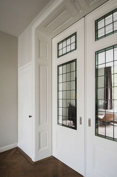 Consider this necessary graphics in order to look at the presented tips on french door curtains Home Room Design, Design Your Home, Interior Design Living Room, House Design, Brown Front Doors, Exterior Front Doors, Build Your House, Interior Trim, Interior Door