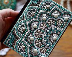 Notebook, Notepad, Notebook handmade, Notebook Journal, Dotart, Undated Notebook A6