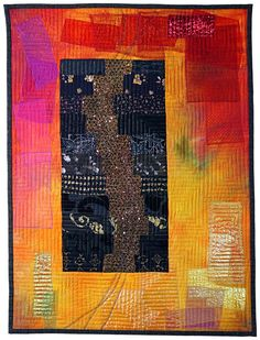 Energie   Ineke van Unen – art quilts – textile art