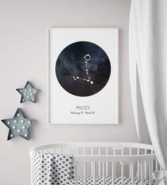Poster Stjärntecken Fiskarna