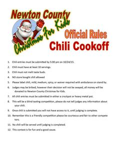9 Best Fundraisers images | Chili cook off, Fundraising, Chili