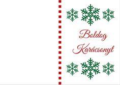 Letölthető és nyomtatható karácsonyi ajándékkísérő kártya | Megoldás-szentély