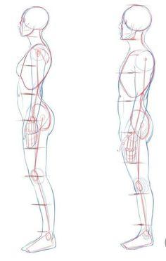 Como Dibujar - De todo (Literalmente) - Wattpad Human Body Drawing, Human Anatomy Drawing, Anatomy Art, Hand Drawing Reference, Art Reference Poses, Drawing Poses, Art Poses, Body Drawing Tutorial, Poses References