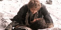 Bilbo and Thorin...time to cry again