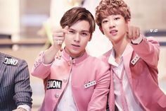 MINGHAO and HANSOL | SEVENTEEN