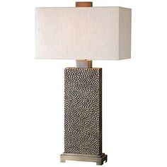 Uttermost Canfield Coffee Bronze 32-Inch-H Table Lamp - #EU7N171 - Euro Style Lighting