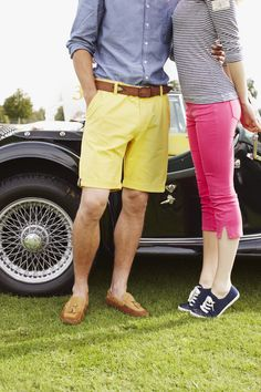 Joules SS13 Great British, Joules, Country Chic, Bermuda Shorts, Spring, Summer, Fashion, Tights, Moda