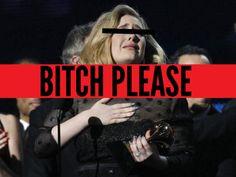 Adele fica puta porque a chamam de gorda ou fica gorda porque a chamam de puta?