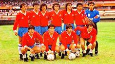 EQUIPOS DE FÚTBOL: SELECCIÓN DE CHILE contra Uruguay 12/07/1987