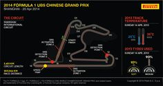 F1 drivers challenge the Shanghai circuit this Sunday.