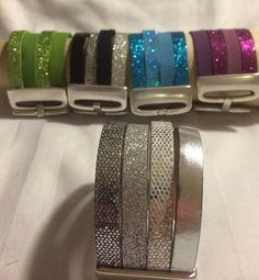 Blue 4 row bracelet by Marsalabutik on Etsy