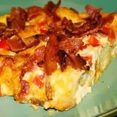 Charleston Breakfast Casserole - An easy, crowd-pleasing breakfast or brunch idea. Try playing with the ingredients to dress it up or down, depending on your occasion
