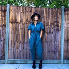 Denim jumpsuit | For more style inspiration visit 40plusstyle.com