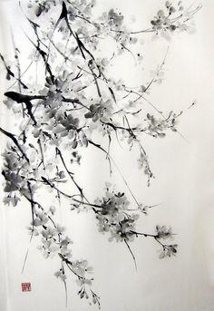 Resultado de imagen de suibokuga painting