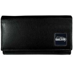 Seattle Seahawks Leather Women's Wallet