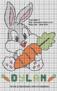 Bugs Bunny Bébé GM